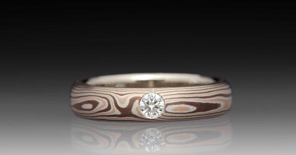Mokum 233 Gane 14k Rose Gold Palladium Sterling Silver And
