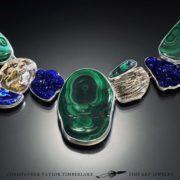 Mokume--Malachite,-Azurite,-Chrystalline-Azurite