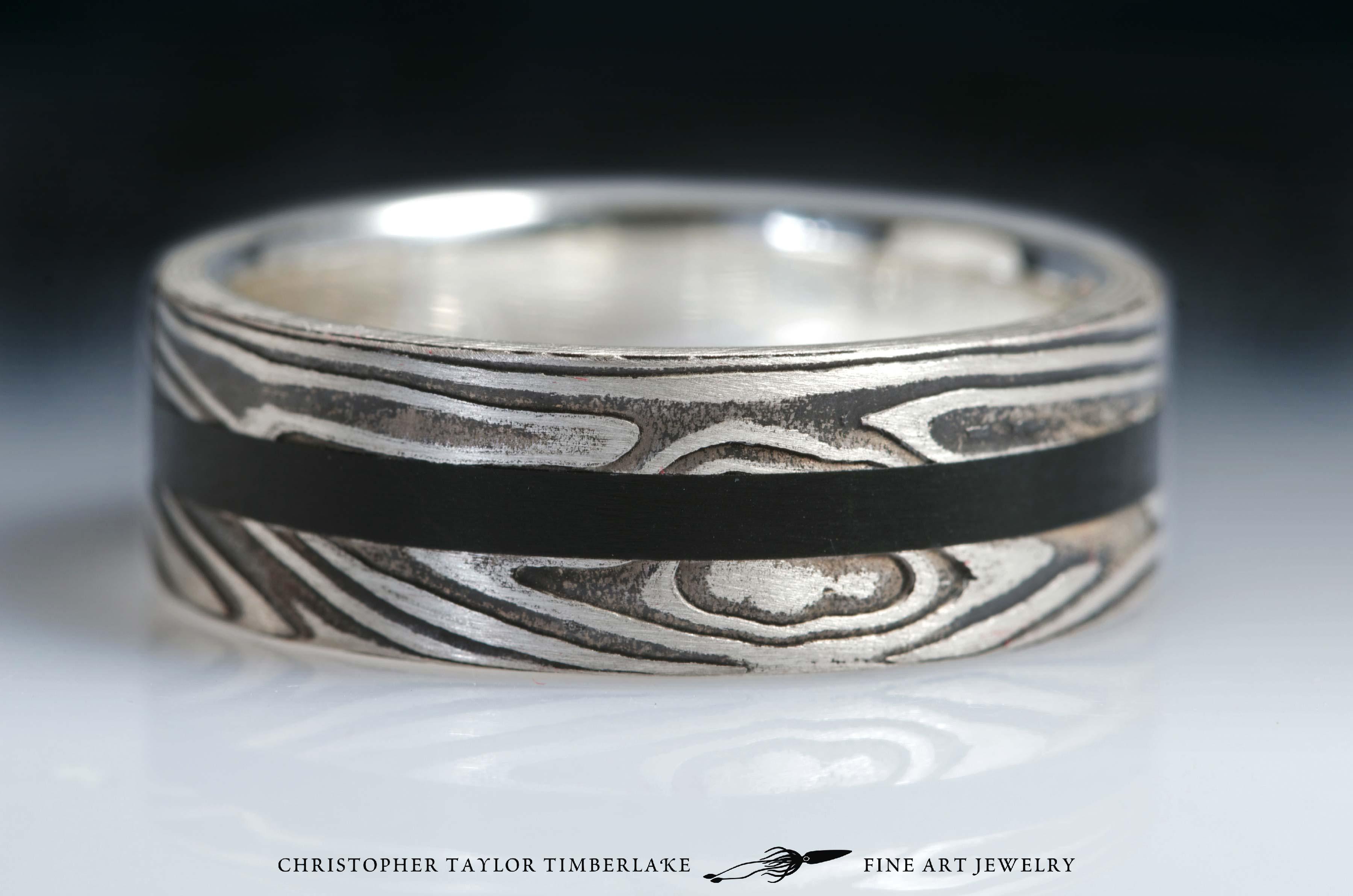 Mokume-(m70)-sterling-silver-nickel-with-black-jade-2,75-2-2,75-2