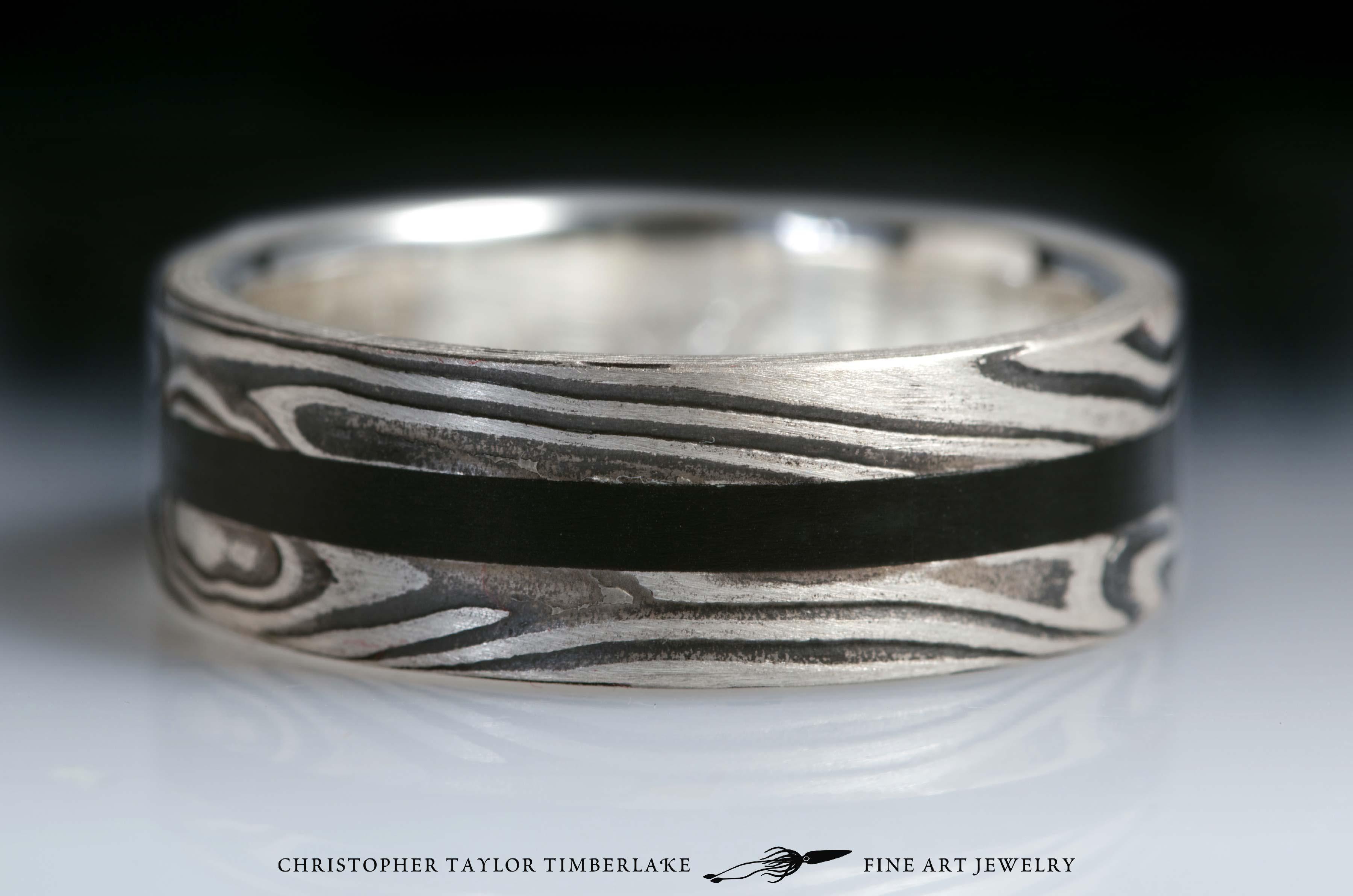 Mokume-(m70)-sterling-silver-nickel-with-black-jade-2,75-2-2,75-3