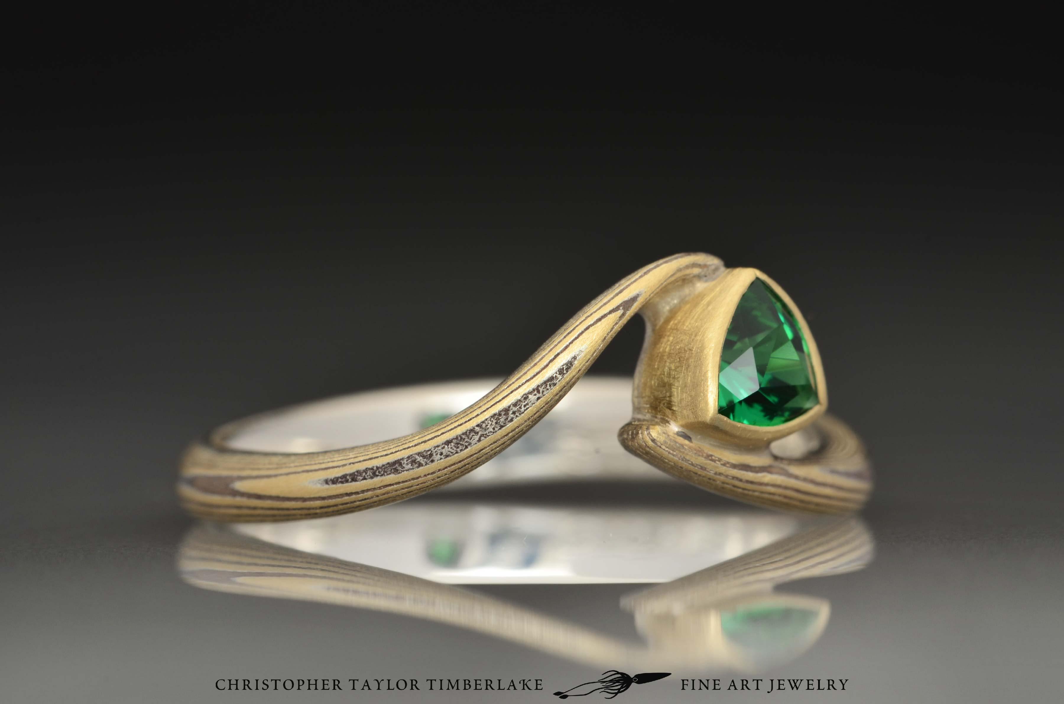 Tsavorite Ring Designs