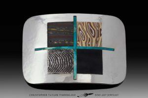 custom belt buckle - mokume stone inlay belt buckle christopher timberlake austin texas